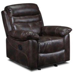 Frozen Flip Sofa Canada Small Bed For Bedroom Recliners Leon S Devon Rocker Recliner Brown