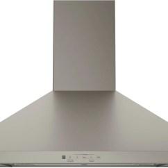 Hood Kitchen Brass Hardware Ge Slate 30 350 Cfm Wall Mount Range Jvw5301ejesc Leon S