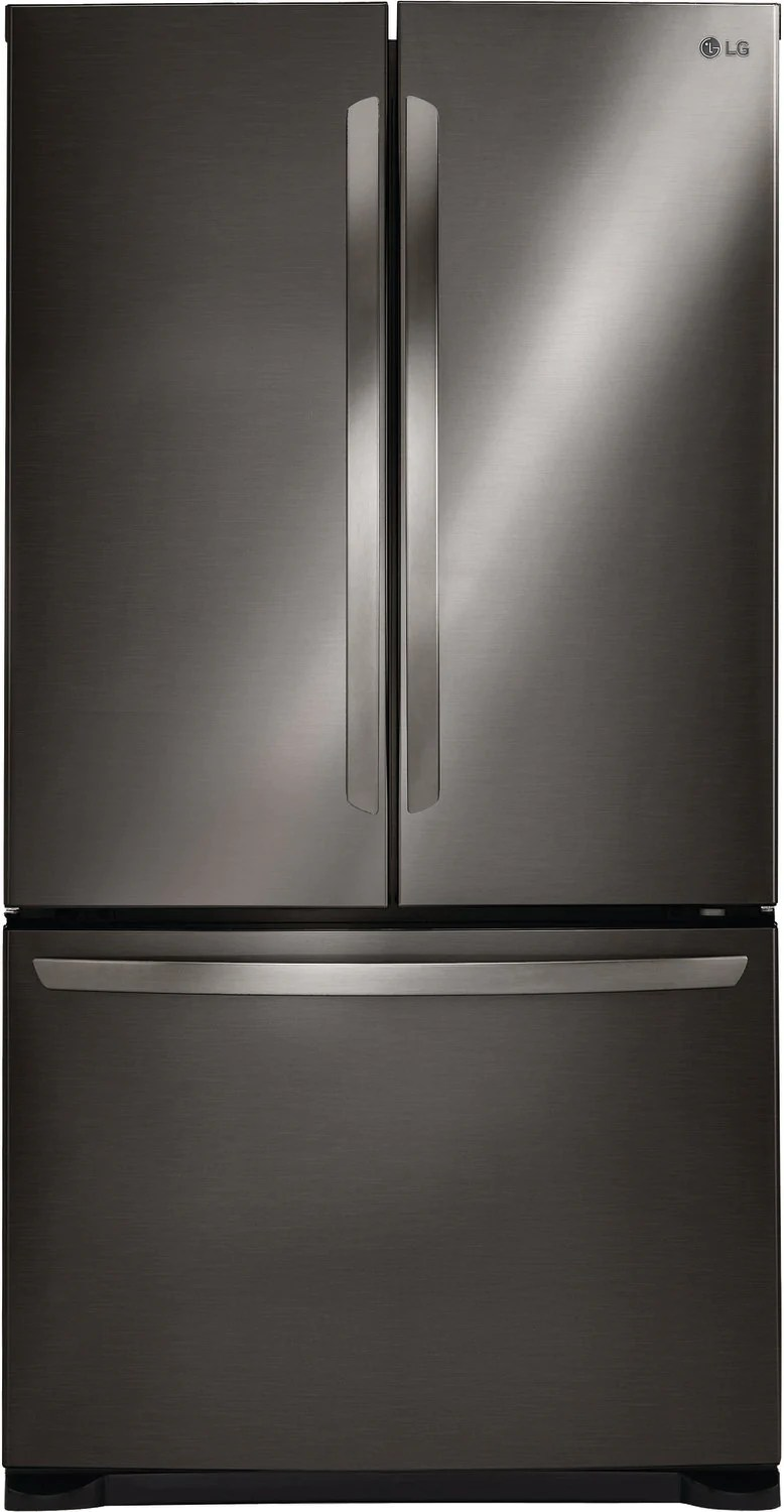 lg kitchen appliances cabinet stand alone black stainless steel french door refrigerator 24 cu ft lfc24786sd