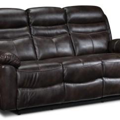 Reclining Sofa Leather Brown Sofasofa Newport Devon Leon S Touch To Zoom
