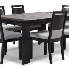 Kitchen Table Sets New York City Hotels With Kitchens Dining Room Packages Leon S Khala 7 Piece Set Espresso