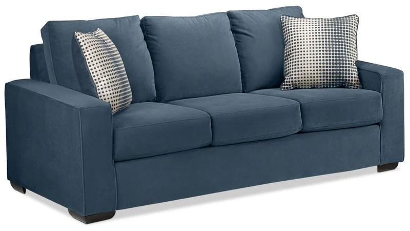 cheap teal sofas taylor light blue velvet sofa leon s the ciara navy