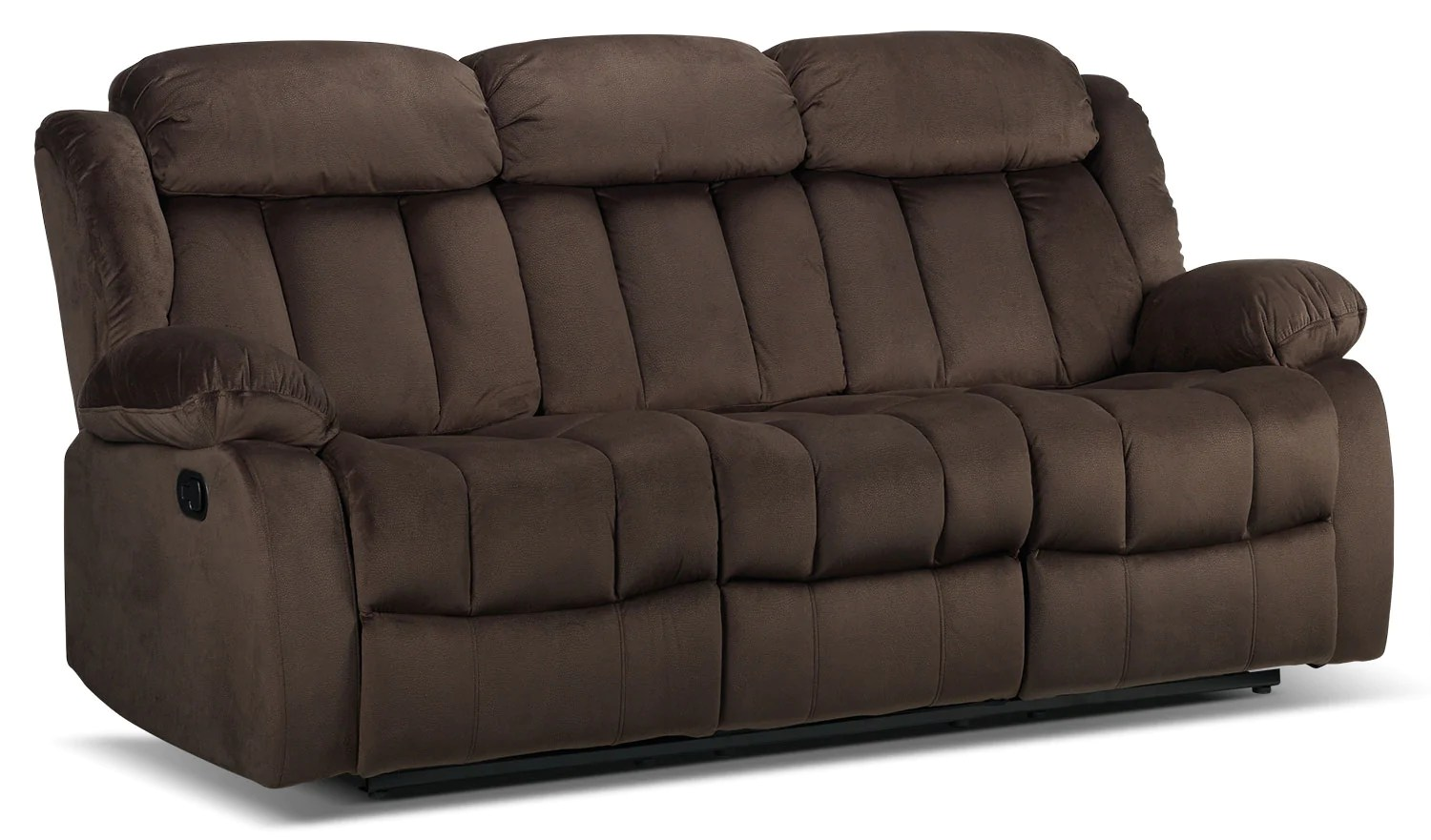 reclining sofa reviews 2017 fabric wooden legs alabama deep brown leon s recently viewed items