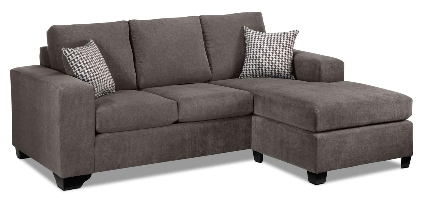 Fava Chaise Sofa Grey Touch To Zoom