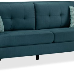 Cheap Teal Sofas Extra Deep Seated Sectional Sofa Julian Blue Leon S Touch To Zoom