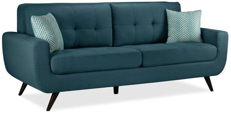 aqua sofa online sale sofas leon s julian blue
