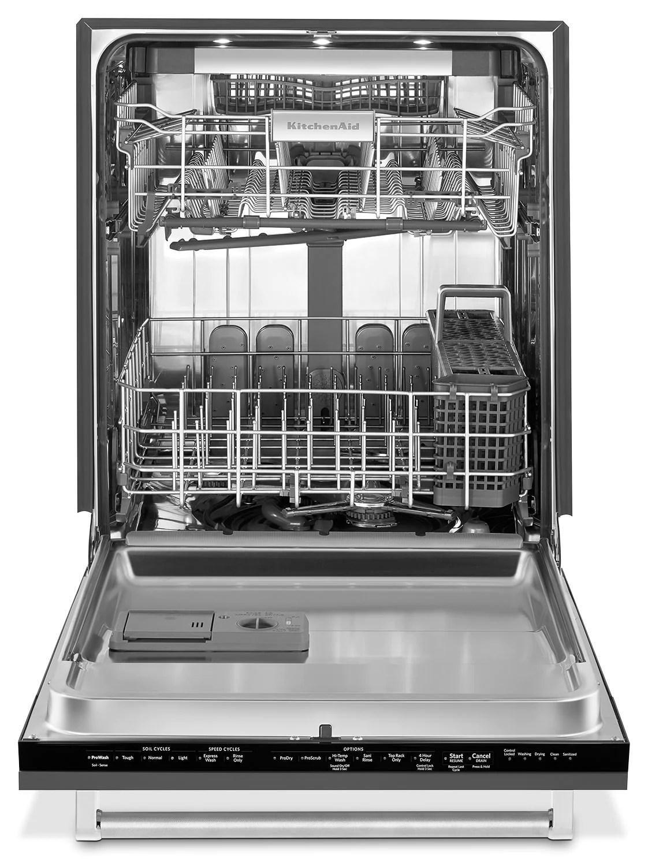 kitchen aide dishwasher base cabinets kitchenaid custom panel ready 24 kdtm504epa leon s