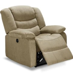 Power Recliner Sofa Canada Wood Frame Replacement Cushions Recliners Leon S Lana Taupe