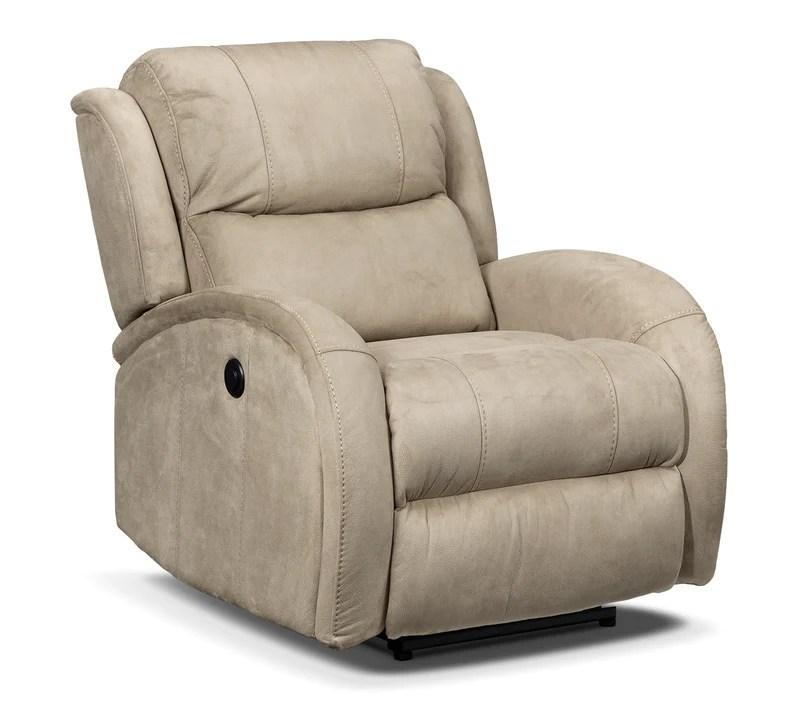 electric recliner sofa not working cushion covers ireland recliners leon s dicarlo power beige