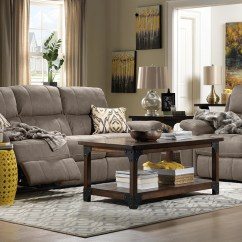 Living Room Reclining Sofas Carpet Rugs For Roarke Sofa Silver Grey Leon S Previous Next