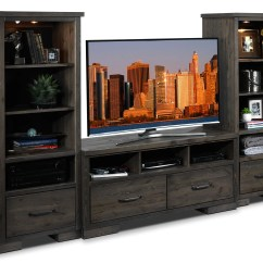 Cheap Wall Units For Living Room Colour Hayden 3 Piece Entertainment Unit Slate Leon S