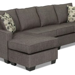Best Built Sofa Beds Deco Scs Sectionals Leon S Trinity 2 Piece Sectional With Modular Chaise Graphite