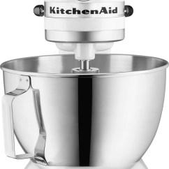 Kitchen Mixer America's Test Knives Kitchenaid White 4 5 Quart Ultra Power Plus Stand Ksm100pswh Leon S