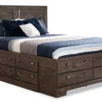 Yorkdale Grey Queen Storage Bed The Brick