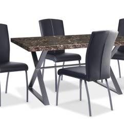 Kitchen Table Sets Linoleum Flooring Dining The Brick Calla 5 Piece Package Ensemble De Salle A Manger Pieces