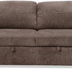 Conor Chenille Full Size Sleeper Sofa Espresso Brown The Brick