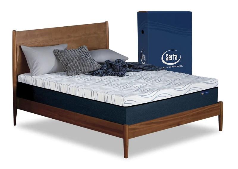 serta perfect sleeper express king mattress in a box with boxspring