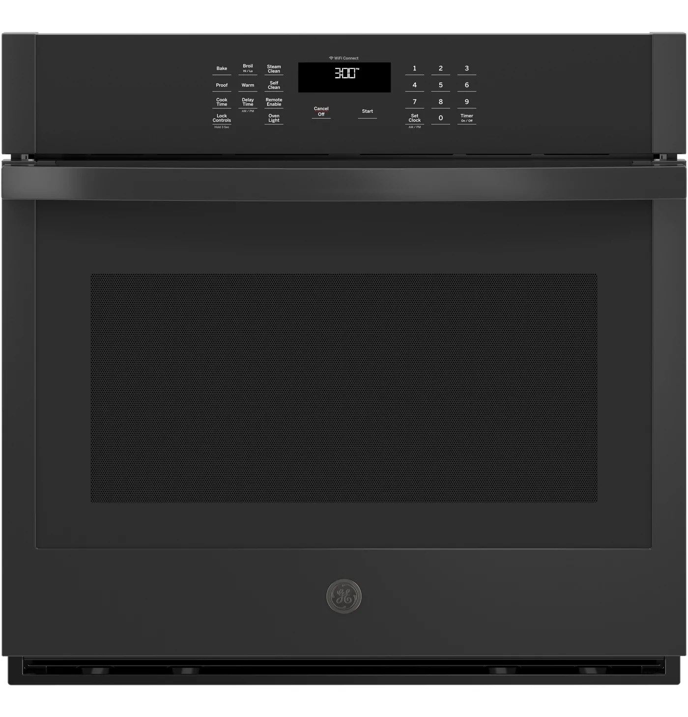 ge 30 5 0 cu ft smart built in single wall oven jts3000dnbb