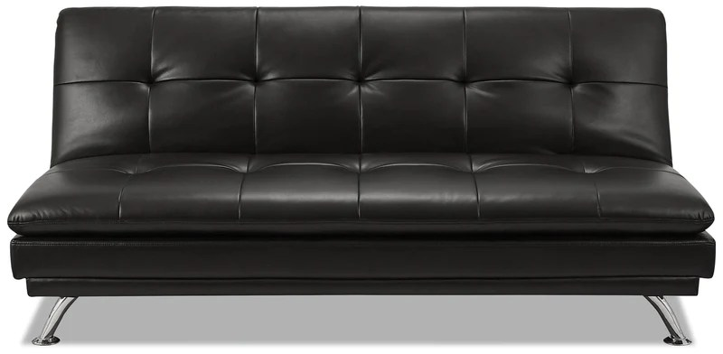 victoria clic clac sofa bed review plush think sofas brisbane beds and futons the brick june leather look fabric futon black en tissu d apparence