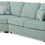 Randal 2 Piece Fabric Left Facing Sleeper Sectional With Cuddler The Brick