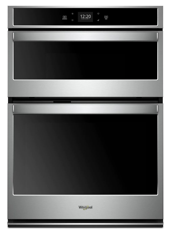 whirlpool 5 7 cu ft smart combination wall oven woc54ec7hs