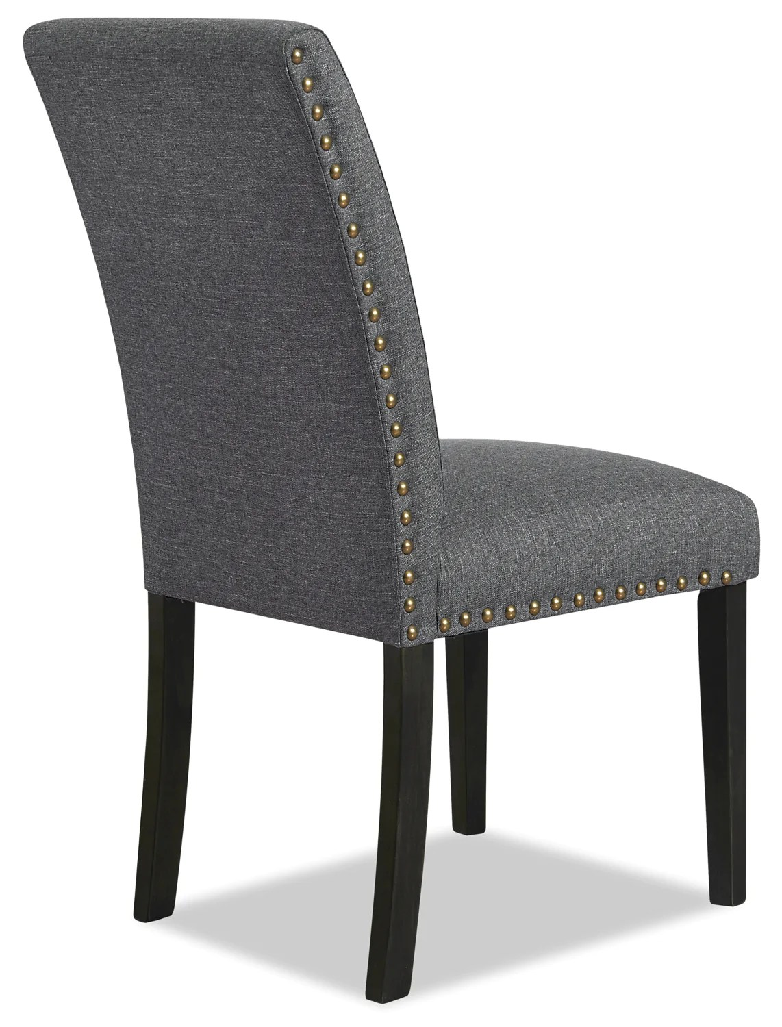 Studded Dining Chairs York Studded Dining Chair Grey