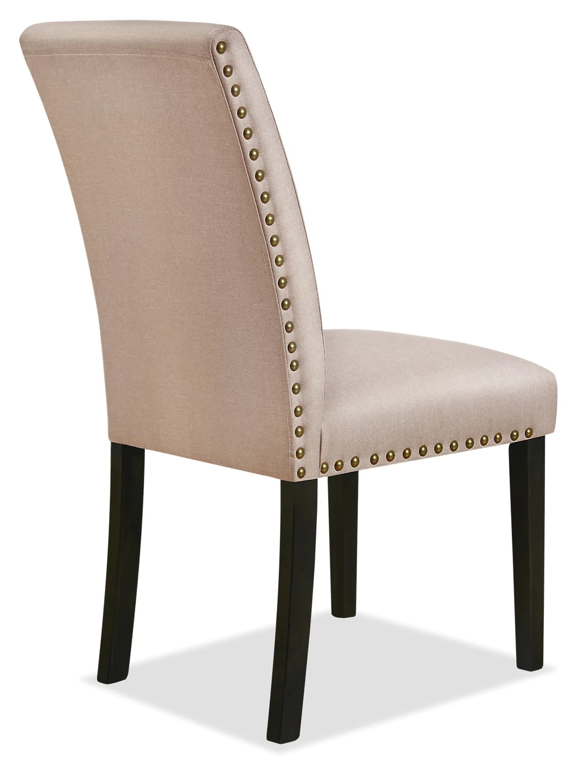 Studded Dining Chairs York Studded Dining Chair Taupe