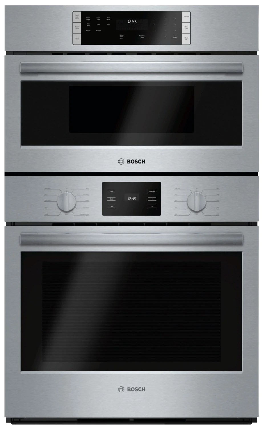 bosch 30 microwave combination wall oven 500 series hbl57m52uc