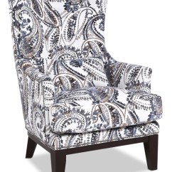 Black And White Paisley Accent Chair Marcel Breuer Chairs Haden Fabric The Brick Paisleyfauteuil D Appoint En Tissu Motif Cachemire