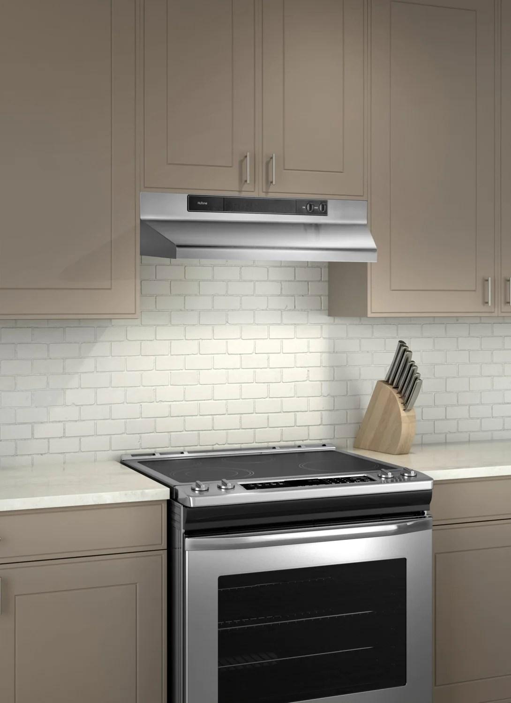 kitchen range hoods scratch resistant sinks broan 30 under cabinet hood nu330ss the brick previous next