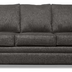 Leather And Chenille Sofa Self Assembly Bed Shay Grey The Brick Tap To Expand