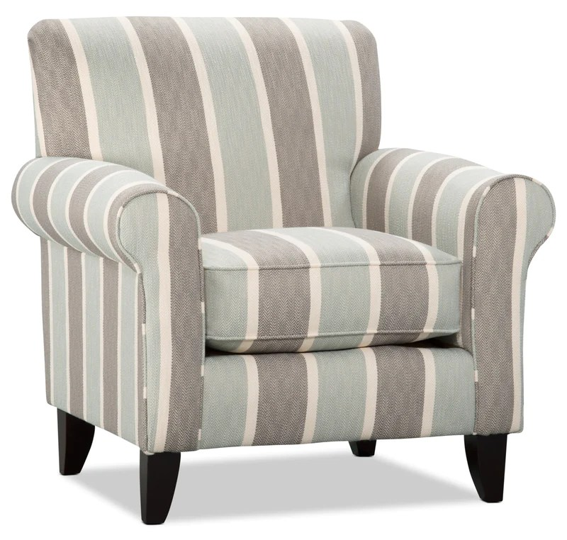 one and a half chair canada gold's gym exercise chairs the brick tula fabric medium accent beach mist fauteuil d appoint en tissu