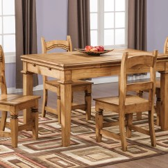 Pine Kitchen Table Custom Island Santa Fe Rusticos Solid Dining The Brick Previous Next