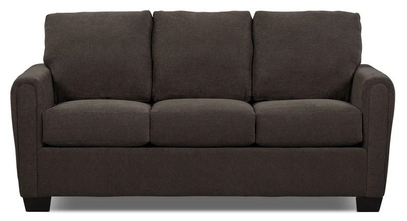 best way to fix a sofa bed walnut table beds and futons the brick spa collection chenille full size with memory foam mattress charcoal