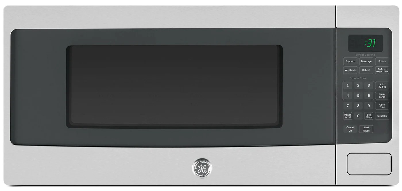 https www thebrick com products ge 1 1 cu ft spacemaker microwave oven pem10sfc