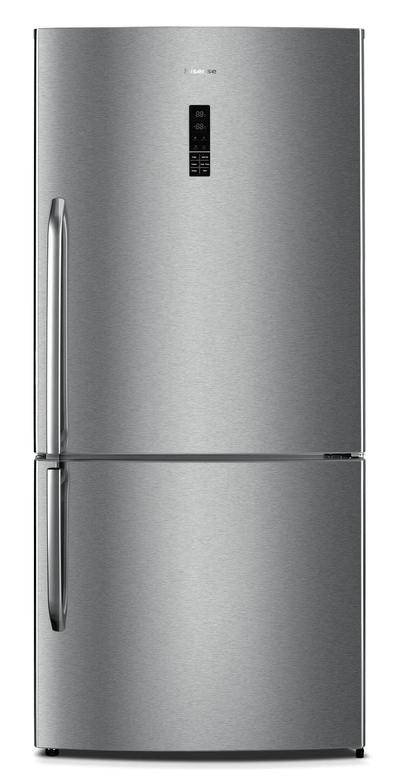 Hisense 17 Cu Ft Refrigerator BottomMount Right Hinge