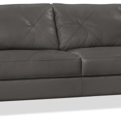 All Leather Sofa Bed Chadwick Herman Miller Vita 100 Genuine Charcoal The Brick Previous Next