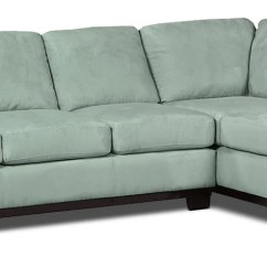 Aqua Sofa Leather Corner Black And White Oakdale 2 Piece Microsuede Right Facing Sectional With Bed Hover To Zoom