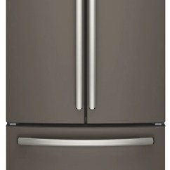Kitchen Machine Coffee Decoration For The Brick Ge Profile 24 5 Cu Ft French Door Refrigerator With Space Saving Icemaker