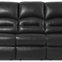 Power Recliner Sofa Canada Com Bluebell Legs Sofas The Brick Toreno Genuine Leather Reclining Black Inclinable En Cuir Veritable Noir