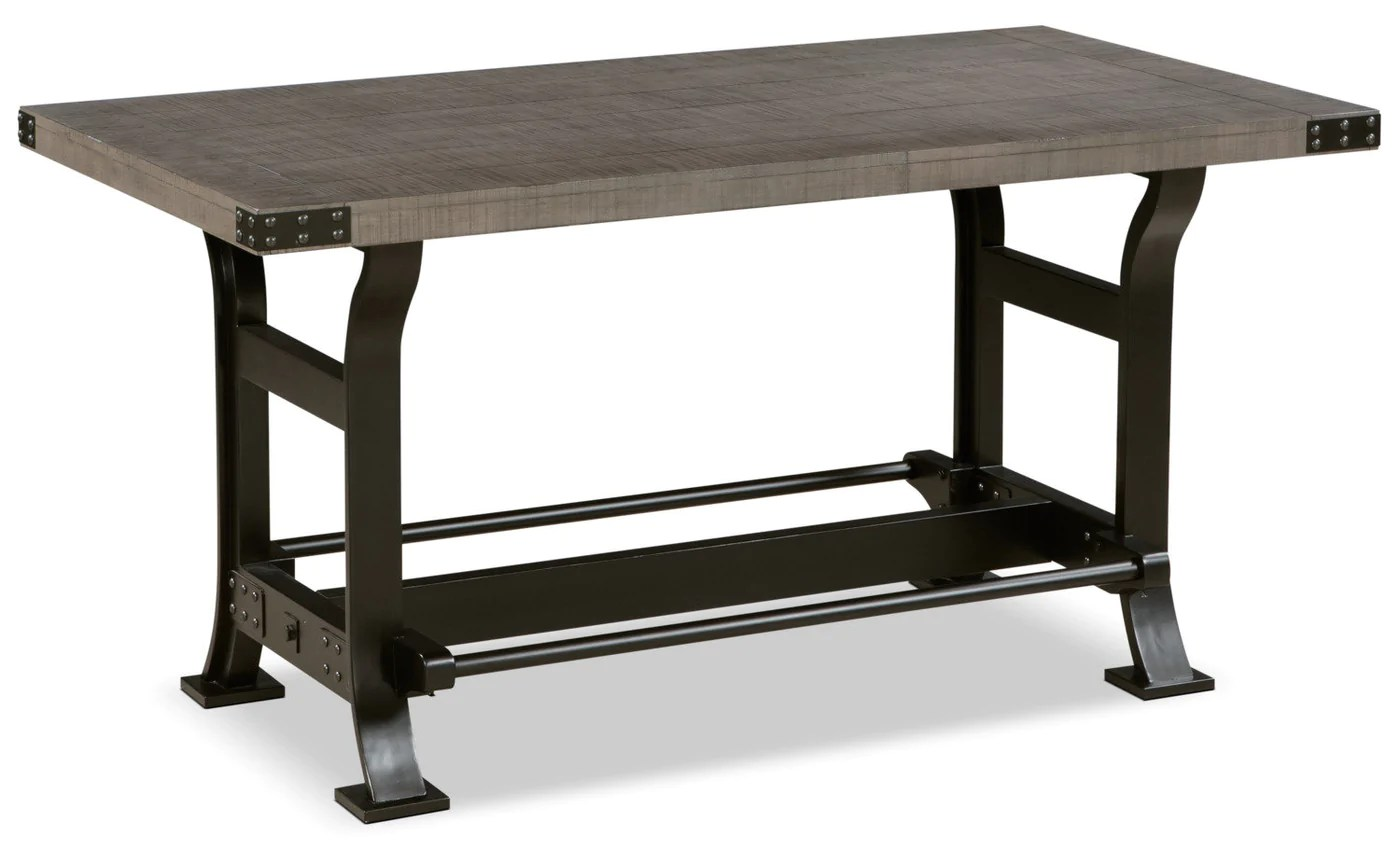 table de salle a manger ironworks de hauteur comptoir