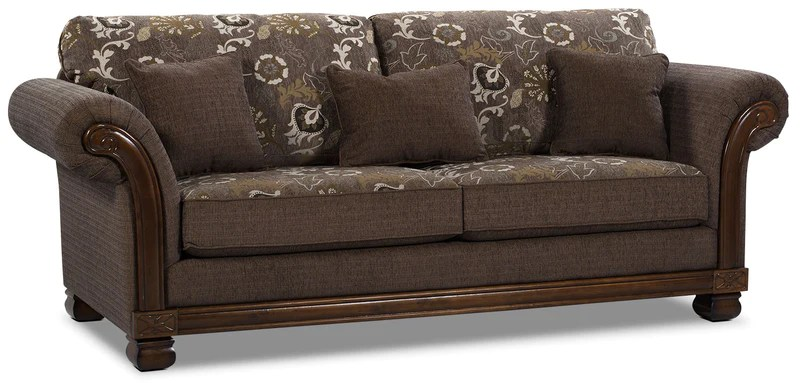width of a sofa bed theater edmonton hazel chenille full size quartz the brick