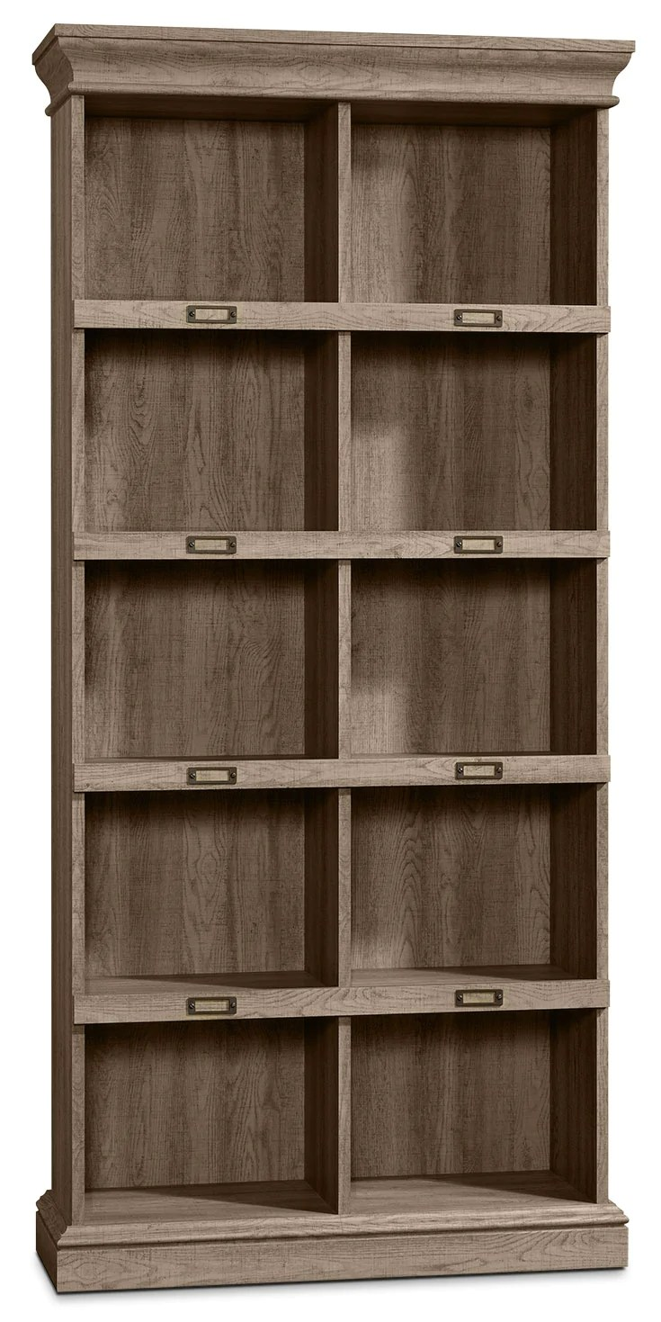 Barrister Lane Tall Bookcase Scribed Oak