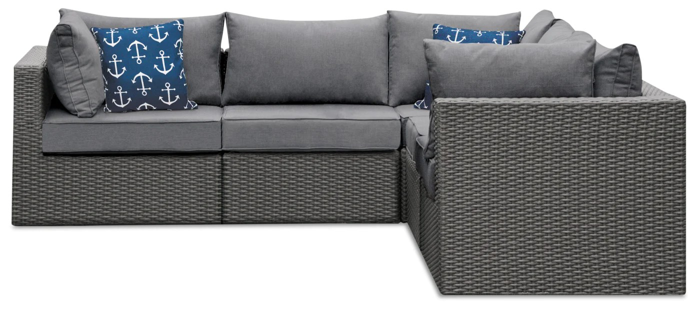 morris 5 piece patio package with storage