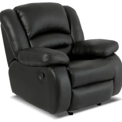 Sofa Rocking Chair Down Feather Sectional Chairs The Brick Toreno Genuine Leather Reclining Glider Black