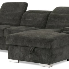 Sectional Sofas With Recliners And Bed Martha Stewart Sofa Saybridge Review Sectionals The Brick Thad 2 Piece Chenille Right Facing Sleeper Grey Sectionnel De