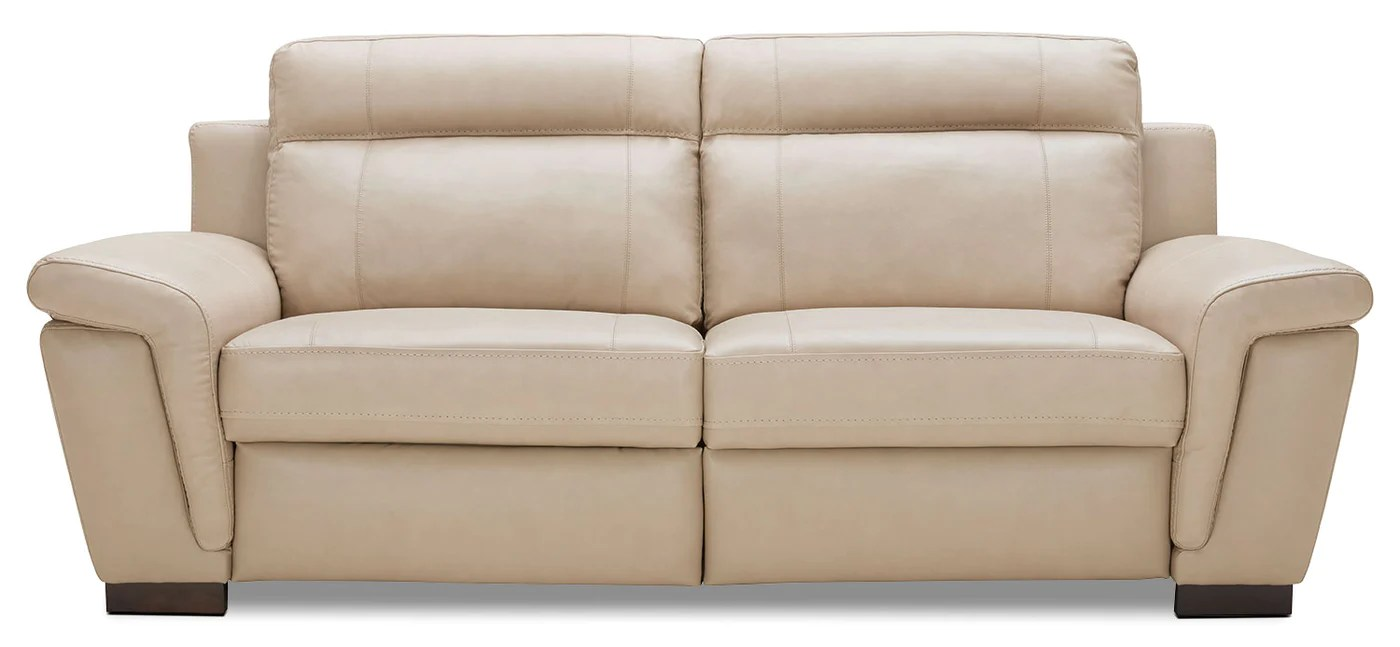 all leather sofa bed bobs benton sleeper seth genuine rope the brick tap to expand