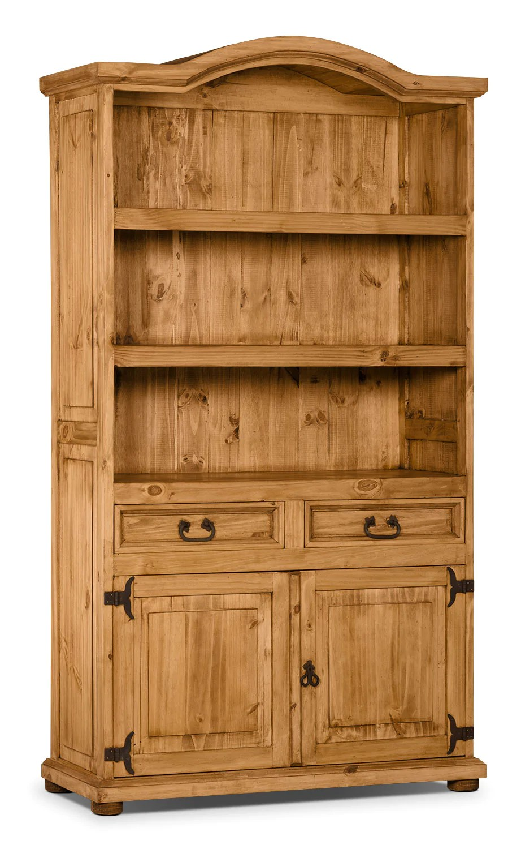 Santa Fe Rusticos Solid Pine Provenzal Bookcase