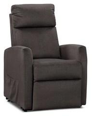 lift chairs edmonton ab beadboard with chair rail the brick lanny livesmart fabric power recliner pewter fauteuil basculeur a inclinaison electrique en