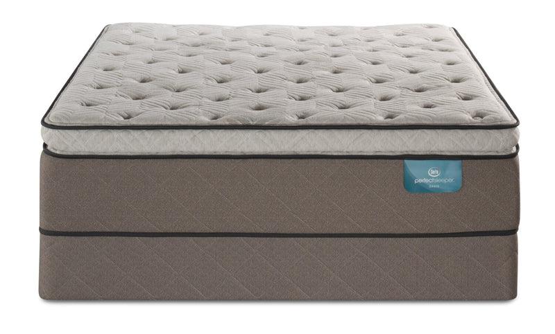 Serta Perfect Sleeper Oasis Haven Pillowtop Queen Mattress ...